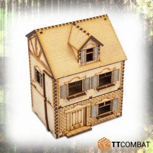 TTCombat   World War Scenics 25mm Village Maison Amelie - TTSCW-WAR-035 -