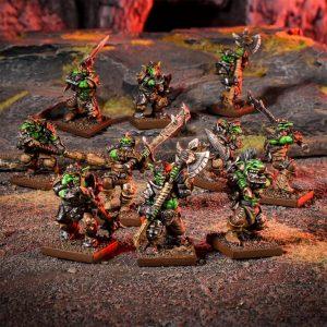 Mantic Kings of War  Goblins Goblin Luggits Troop - MGKWG302 - 5060469666129