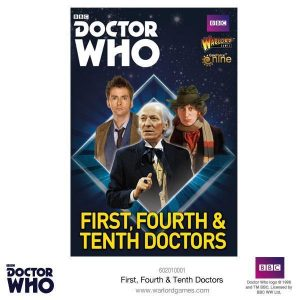 Warlord Games Doctor Who  Doctor Who The First, Fourth & Tenth Doctors - 602010001 - 5060393707707