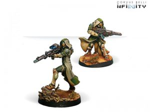 Corvus Belli Infinity  Haqqislam Hassassin Lasiqs (Viral Sniper / Viral Rifle) - 280492-0684 - 2804920006849