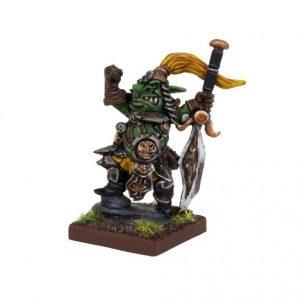 Mantic Kings of War  Goblins Kings of War Goblin King - MGKWG202 - 5060469666136