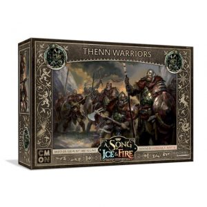 Cool Mini or Not A Song of Ice and Fire  Free Folk A Song of Ice and Fire: Free Folk Thenn Warriors - CMNSIF404 - 889696009517