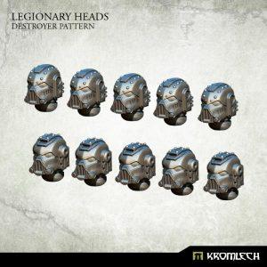 Kromlech   Legionary Conversion Parts Legionary Heads: Destroyer Pattern (10) - KRCB195 - 5902216115934