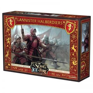 Cool Mini or Not A Song of Ice and Fire  House Lannister A Song of Ice and Fire: Lannister Halberdiers - CMNSIF202 - 889696007834