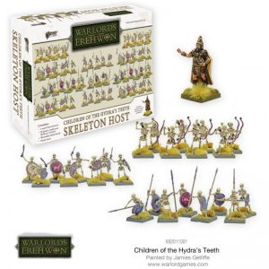 Warlord Games Warlord of Erehwon  Warlords of Erehwon Children of the Hydra's Teeth - Skeleton Host - 692011001 - 5060572502222