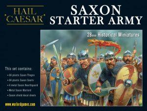 Warlord Games Hail Caesar  SALE! Saxon Starter Army - 109913002 - 5060393709909