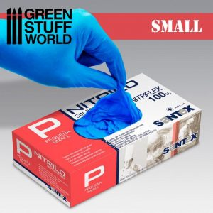 Green Stuff World   Airbrushes & Accessories Nitrile Gloves - Small - 8437001266906ES - 8437001266906