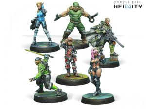 Corvus Belli Infinity  Non-Aligned Armies - NA2 Outrage Characters Pack - 280726-0673 - 2807260006739