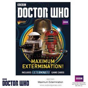 Warlord Games Doctor Who  Doctor Who Doctor Who: Maximum Extermination! - 602210501 - 5060393708575