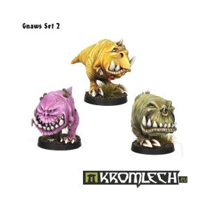 Kromlech   Orc Model Kits Gnaws Set 2 (3) - KRM037 - 5902216111608