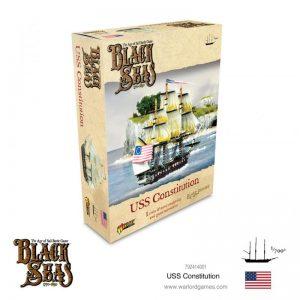 Warlord Games Black Seas  Black Seas Black Seas: USS Constitution - 792414001 - 5060572505353