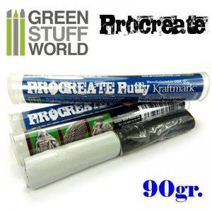 Green Stuff World   Modelling Putty & Green Stuff ProCreate Putty 90gr. - 8436554360178ES - 8436554360178