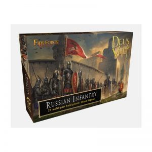 Fireforge Games   Medieval Era Medieval Russian Infantry - FF010 - 2621910007286