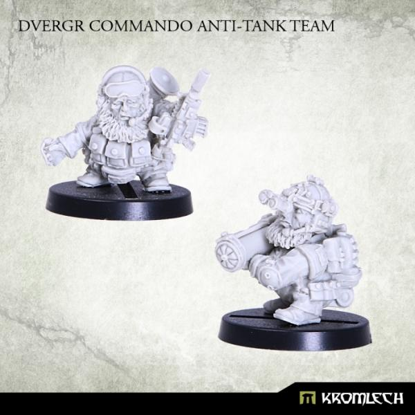 Kromlech   Dvergr Model Kits Dvergr Commando Anti-Tank Team (2) - KRM096 - 5902216113831