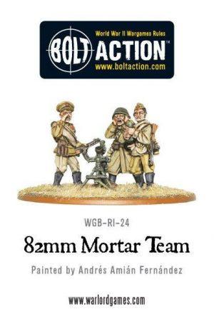 Warlord Games Bolt Action  Soviet Union (BA) Soviet 82mm Mortar Team - WGB-RI-24 - 5060200842638