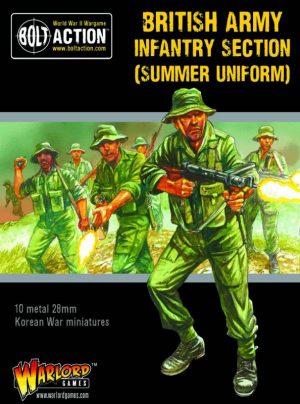 Warlord Games Bolt Action  Great Britain (BA) Korean War British Infantry Section (summer) - 402218002 - 5060572504615