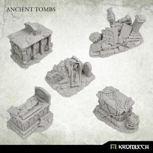 Kromlech   Kromlech Terrain Ancient Tombs (5) - KRBK065 - 5908291070724