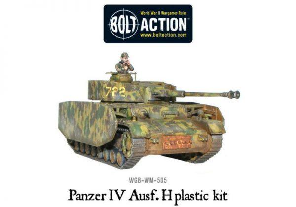 Warlord Games Bolt Action  Germany (BA) Panzer IV Ausf. F1/G/H medium tank (plastic) - 402012010 - 5060200849798