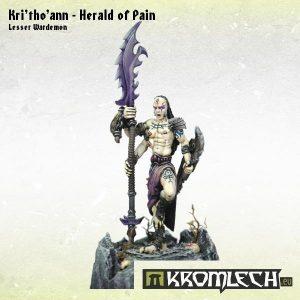 Kromlech   Demons Model Kits Kri'tho'ann - Herald of Pain - KRM072 - 5902216112810