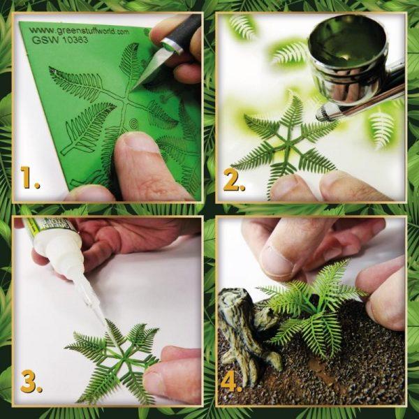 Green Stuff World   Plants & Flowers Paper Plants - Bracken Fern - 8436574508666ES - 8436574508666