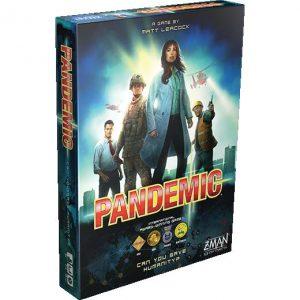 Z-Man Games Pandemic  Pandemic Pandemic - Can you save Humanity? - ZMG71100 - 681706711003