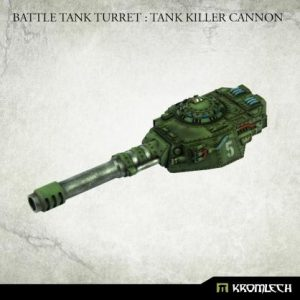 Kromlech   Imperial Guard Conversion Parts Battle Tank Turret: Tank Killer Cannon (1) - KRVB092 - 5902216119826
