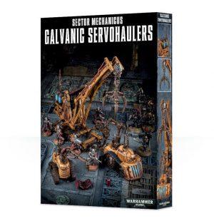 Games Workshop   40k Terrain Sector Mechanicus: Galvanic Servohaulers - 99120199054 - 5011921082681