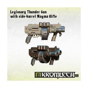 Kromlech   Legionary Conversion Parts Legionary Thunder Gun with side-barrel Magma Rifle (5) - KRCB137 - 5902216112964