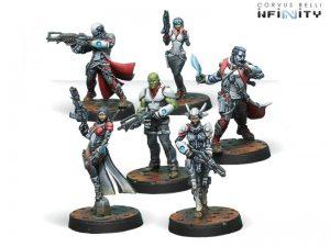 Corvus Belli Infinity  Nomads Bakunin Jurisdictional Command Sectoral Starter Pack - 280583-0622 - 2805830006226