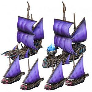 Mantic Kings of War Armada  Twilight Kin Twilight Kin Booster Fleet - MGARV102 - 5060469667232