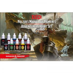 The Army Painter Dungeons & Dragons  Paint Sets D&D: Nolzur's Adventurer Paint Set - APWP75001 - 5713799750012