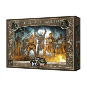 Cool Mini or Not A Song of Ice and Fire  Free Folk A Song of Ice and Fire: Free Folk Attachments #1 - CMNSIF416 - 889696010285