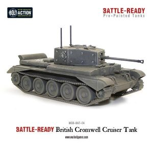 Warlord Games Bolt Action  Battle Ready Cromwell Battle Ready Tank - WGB-BAT-04 -
