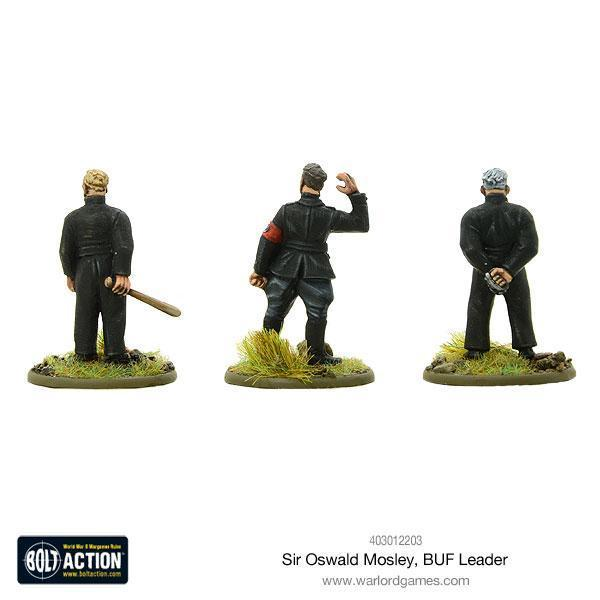 Warlord Games Bolt Action  Great Britain (BA) Sir Oswald Mosley, BUF Leader - 403012203 - 5060393706755