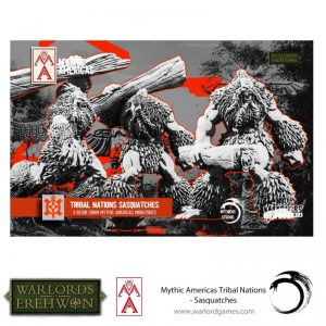 Warlord Games Warlord of Erehwon  Warlords of Erehwon Sasquatches - 723014006 - 5060572508798