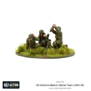 Warlord Games Bolt Action  United States of America (BA) US Airborne Medium Mortar team (1944-45) - 403013102 - 5060393709152