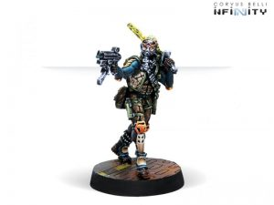 Corvus Belli Infinity  Non-Aligned Armies - NA2 Cube Jagers, Mercenary Recoverers (SMG) - 280732-0731 - 2807320007317