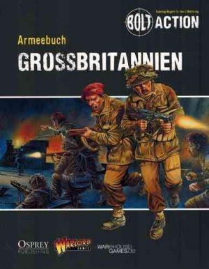 Warlord Games Bolt Action  Great Britain (BA) Armeebuch Grossbritannien - WG-BA-DE-004 - TBA