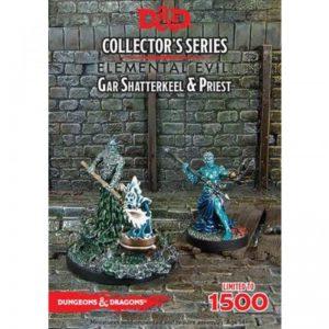 Gale Force Nine Dungeons & Dragons  D&D Miniatures D&D: Gar Shatterkeel & Water Priest - GFN71041 - 9420020226999