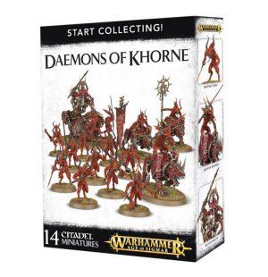 Games Workshop Warhammer 40,000 | Age of Sigmar  Chaos Daemons Start Collecting! Daemons of Khorne - 99129915041 - 5011921088539