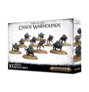 Games Workshop (Direct) Age of Sigmar  Beasts of Chaos Chaos Warhounds - 99120201077 - 5011921102747
