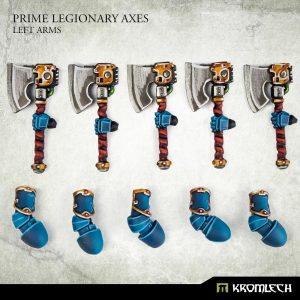 Kromlech   Legionary Conversion Parts Prime Legionaries CCW Arms: Axes (left arms) - KRCB274 - 5908291070960