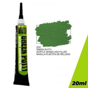 Green Stuff World   Modelling Putty & Green Stuff Green Putty - 8436574506006ES - 8436574506006