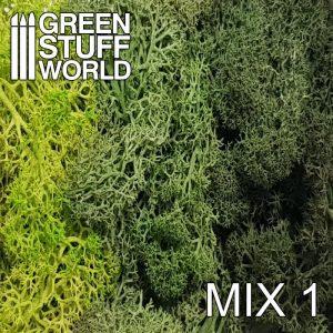Green Stuff World   Lichen & Foliage Islandmoss - Green Mix - 8436554368242ES - 8436554368242