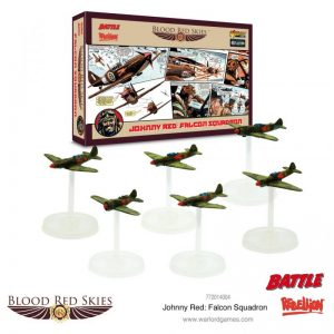 Warlord Games Blood Red Skies  Blood Red Skies Blood Red Skies: Johnny Red's Falcon Squadron - 772214004 - 5060572501836