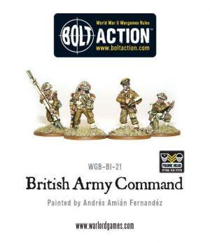 Warlord Games Bolt Action  Great Britain (BA) British Army Command - WGB-BI-21 - 5060200842041
