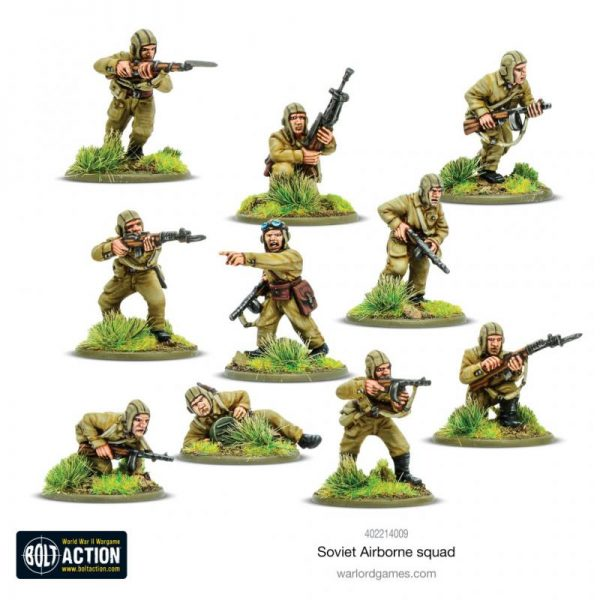 Warlord Games Bolt Action  Soviet Union (BA) Soviet Airborne Squad - 402214009 -
