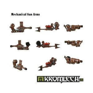 Kromlech   Orc Conversion Parts Mechanical Gun Arms (6) - KRCB002 - 5902216110014