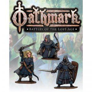 North Star Oathmark  Oathmark Elf Light Infantry Champions - OAK117 - oak117