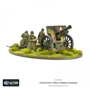 Warlord Games Bolt Action  France (BA) French Army 105mm Medium Howitzer - 403015501 - 5060572501676